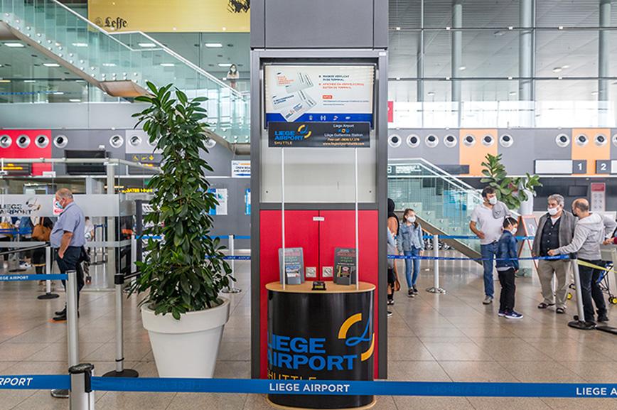 Liege Airport - animation - Reprise des vols passagers