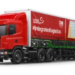 Liege Airport - bâche camion - train