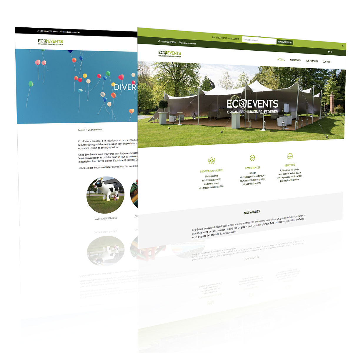 eco-events website
